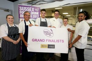 Sussex Young Chef Grand Finalists and Judges